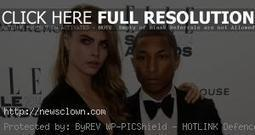 Cara Delevingne And Pharrell Make A Song | newsclown | Scoop.it