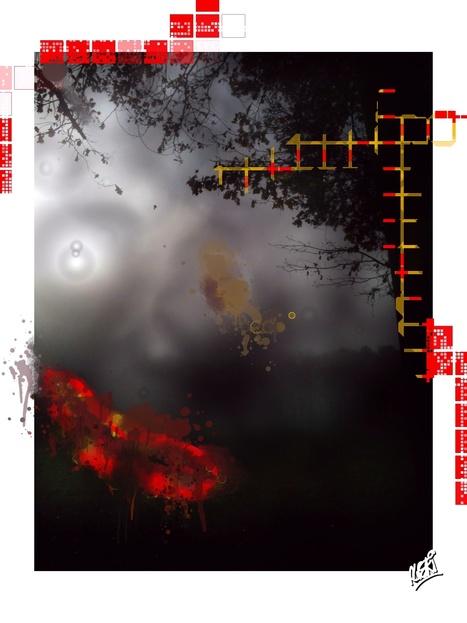iPad art by Alexandre Alpeyrie (ALPERI) | Alexandre Alpeyrie artist (ALPERI) | Scoop.it