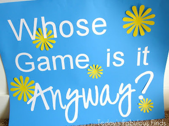 Today's Fabulous Finds: Whose Game Is It Anyway? (Group Game) | Serious Play | Scoop.it