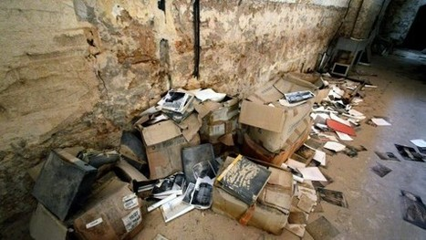 Dimenticato nel seminterrato fra polvere e topi, la fine dell'archivio dei tesori pugliesi | Généal'italie | Scoop.it