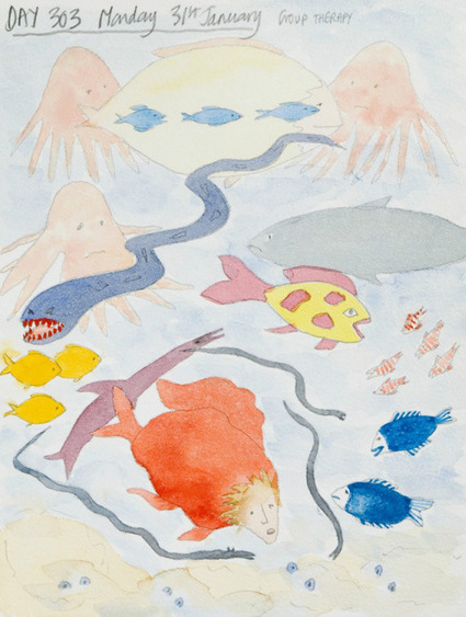 Drawing Mental Illness: Artist Bobby Baker's Visual Diary | Social work ethics | Scoop.it