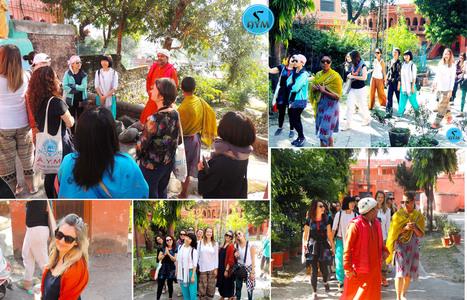 AYM Yoga School students were taken to a yogic outing in Rishikesh recently. | Yoga School Rishikesh India | Scoop.it