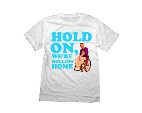 Drake Shirt | Hold On, We're Rolling Home | Funny Jimmy Wheelchair Degrassi Tshirt | New T-Shirt | Scoop.it