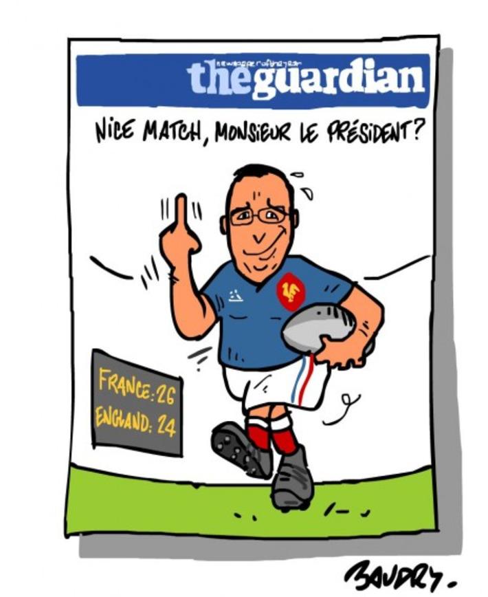 La Une censurée du «Guardian» | Baie d'humour | Scoop.it