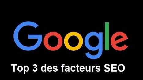 Google révèle enfin les 2 premiers facteurs de référencement | Web design | Scoop.it