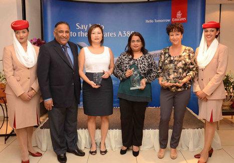 Emirates récompense ses meilleurs agents - Ile Maurice Tourisme Infos | News des Compagnies Aériennes de l'Océan Indien | Scoop.it