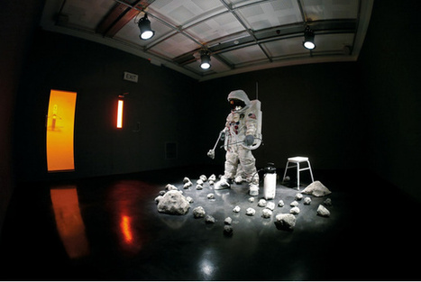 Artists Imagine A New Society On The Moon | The Creators Project | Placing Creativity | Scoop.it