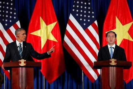 Après la visite d'Obama, Vietnam et États-Unis plus proches que jamais | Liên-Viêt Réseau culturel France Vietnam | Scoop.it