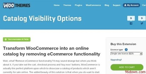 Woocommerce Catalog Visibility Options - Download Free Nulled Scripts | asd | Scoop.it