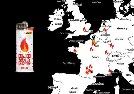 Allume une flamme pour fêter les 40 ans de BIC | QRdressCode | Scoop.it