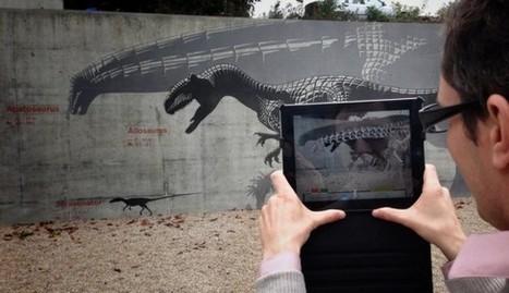 Du côté des paléontologues : Une application en RA pour guider les visiteurs sur les traces des dinosaures | Le numérique pour la conservation du patrimoine | Scoop.it