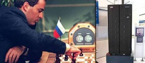 10 février 1996. Kasparov, le champion du monde d'échecs, est battu par un ordinateur | Post-Sapiens, les êtres technologiques | Scoop.it