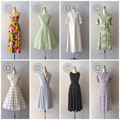 dear golden | vintage: ✶ Spring Dress Preview! ✶ | All About Vintage | Scoop.it