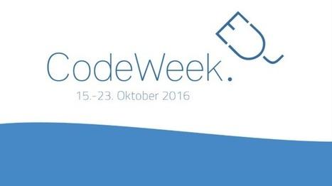 EU Code Week: Jugend hackt, programmiert und übt 3D-Druck | Programmieren in der Schule | Scoop.it