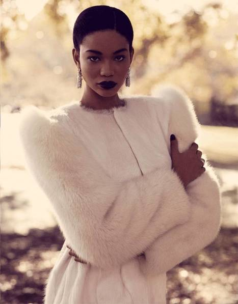 Chanel Iman: Venus in Furs - Evening Standard | African fashion and beauty | Scoop.it
