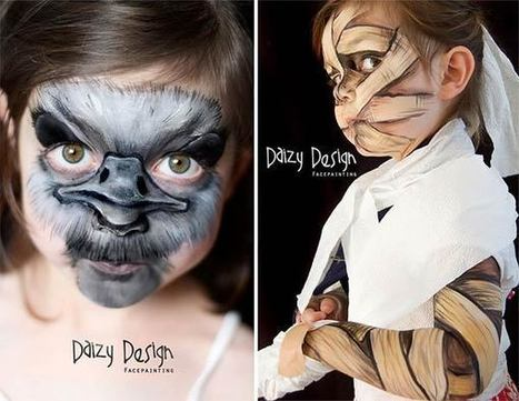 Incredible Face Painting Art by Christy Lewis | Inspired By Design | Scoop.it