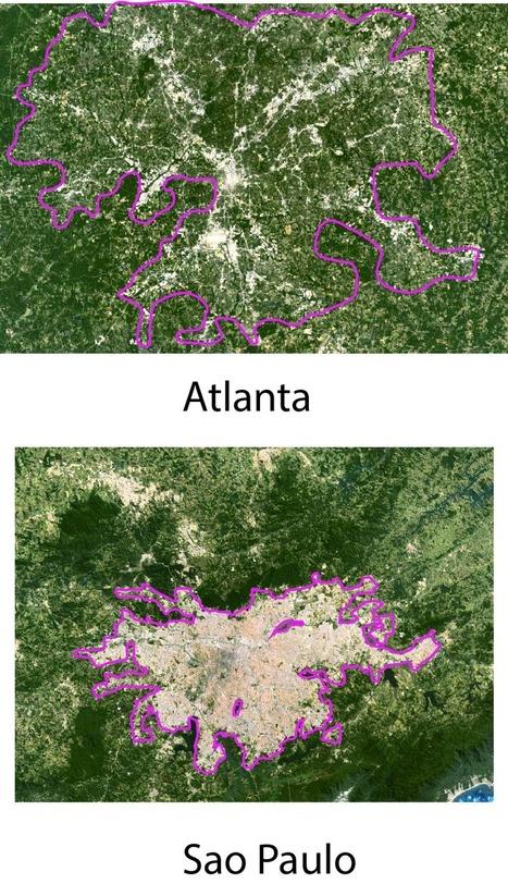 Comparing Urban Footprints | Nuevas Geografías | Scoop.it