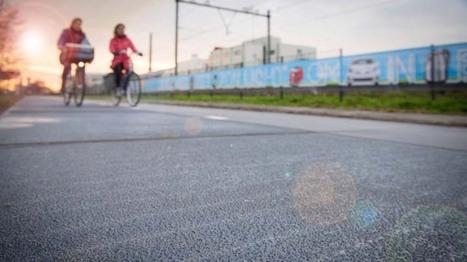 Energieopwekkend fietspad officieel geopend | Aardrijkskunde | Scoop.it
