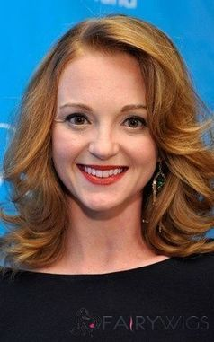 Hottest-Selling Jayma Mays Medium Wavy Lace Front Real Human Hair Wigs : fairywigs.com | African American Wigs | Scoop.it