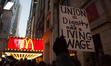 Grève dans les fast-food new-yorkais pour dénoncer des salaires trop faibles | Social Life's moods | Scoop.it
