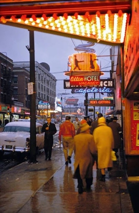 vintage everyday: Wonderful Color Photographs of Street Scenes from between the 1950s and 1970s | Emotional triggers | Scoop.it