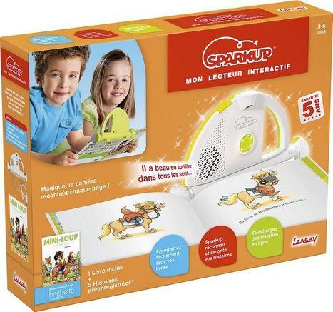 Sparkup, un appareil qui reconnaît et raconte les histoires à vos enfants   MARQUES & ENSEIGNES   Scoop.it