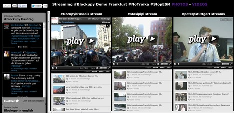 LiveStream from Occupy Brussels & cie - @Blockupy #Frankfurt #occupybce #blockupy #peoplewitness - FR/EN/ESP | Occupy Belgium | Scoop.it