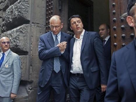 Renzi silura Letta e si prepara a salire al Quirinale Informazione | InformAzione | Scoop.it