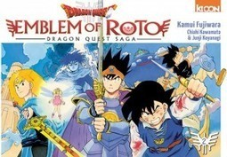 Critique du manga Dragon Quest : Emblem of Roto chez Ki-oon - Oblikon.net | littérature jeunesse | Scoop.it
