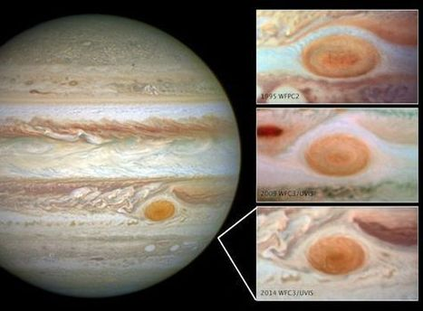 NASA: Jupiter's Great Red Spot is Rapidly Shrinking   Amazing Science   Scoop.it