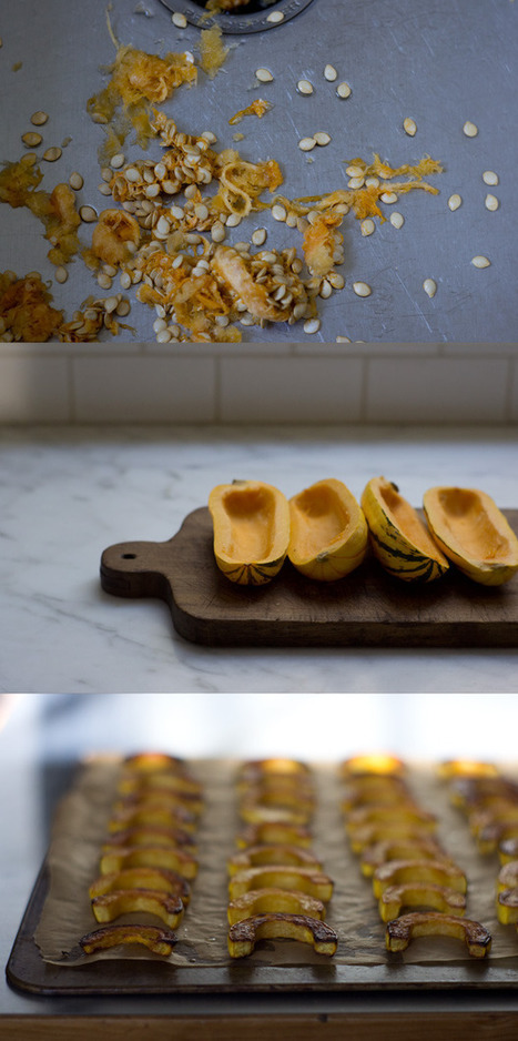 Miso Sesame Winter Squash Recipe - 101 Cookbooks | Meatless mondays | Scoop.it