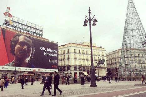 El anuncio de la serie Narcos en la Puerta del Sol abre el debate sobre los límites de la publicidad | Publicidad | Scoop.it