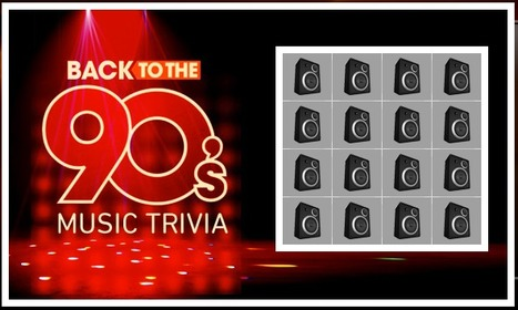 90's Music Quiz | 4 in a Row | QuizFortune | Quiz Related Biz - Social Quizzing and Gaming | Scoop.it