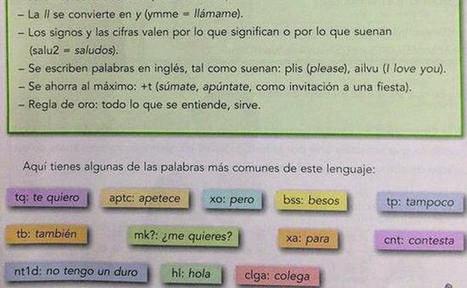 Examen de 5º de primaria: Poneos en pareja y cread un diálogo mediante el lenguaje del móvil   La voz de Cuarto I   Scoop.it