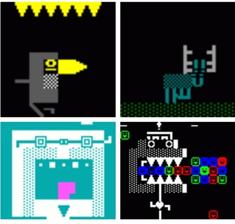 ANSI-animations made in ASCII-Paint, 2002. Maybe posted before... | ASCII Art | Scoop.it