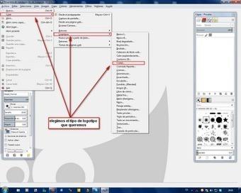 Crear un logotipo con GIMP | paprofes | Scoop.it