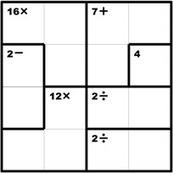 KenKen Puzzle Official Site - Free Math Puzzles That Make You Smarter! | Gordon Graduate Education | Scoop.it