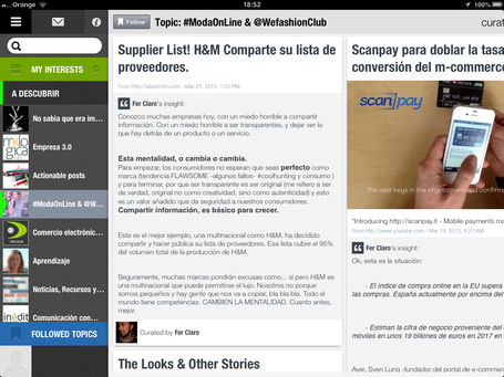 Mi smartblog #Modaonline recomendado por Scoop.it en su nueva app | Moda On Line & @WefashionClub | Scoop.it