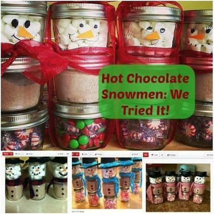 Hot Chocolate Snowmen: A Cute Holiday Gift Kids Will Love to Make (VIDEO) | Amanda's Recipe Box | Scoop.it