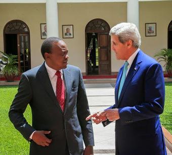 John Kerry Visits President Uhuru at State House | Nairobi Gossip & News | Gossip | Scoop.it
