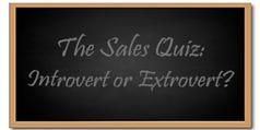 Etes-vous un vendeur introverti ou extraverti ? | sales key points | Scoop.it