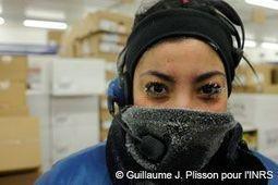 INRS - Effets du travail au froid sur la santé | Projet RHC : Pôle Gastronomique | Scoop.it