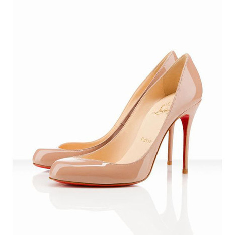 nude pumps patent leather louboutin maudissima 100mm | popular collection | Scoop.it