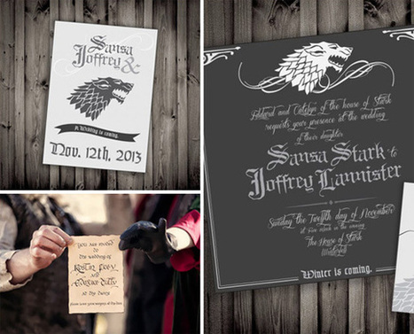 Organiser une soiree theme Game of Thrones - GoReception | Organisation receptions, anniversaires, mariages France | Scoop.it