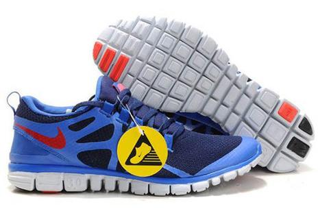 Nike Free 3.0 V3 Running Shoe Obsidian Royal Team Orange Mens | popular list | Scoop.it