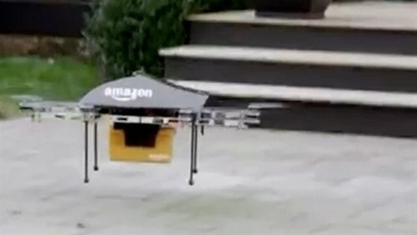 Amazon plans to use drones for delivery | SecureOil | Scoop.it