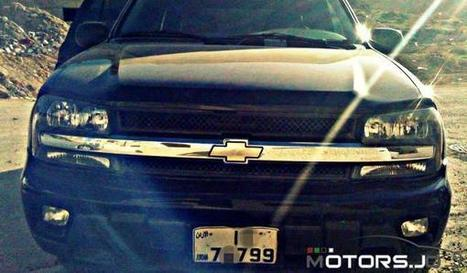 SUV Cars for Sale: Chevrolet Trailblazer 2002 11200 JDs | Cars For Sale In Jordan | Scoop.it