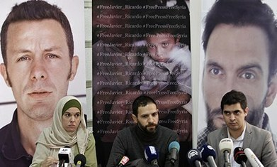 Wife breaks silence over Spanish journalist's kidnap in Syria | World ... | Books, Authors and Journalists | Scoop.it