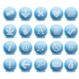 Free 37 PNG iBlue Icons - Vector | Icon | Wallpaper | Vector Icon Wallpaper | Scoop.it