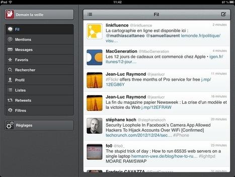 Vous avez un nouvel iPad ? Voilà les applications qu'il vous faut ! | Iphone & Ipad | Scoop.it